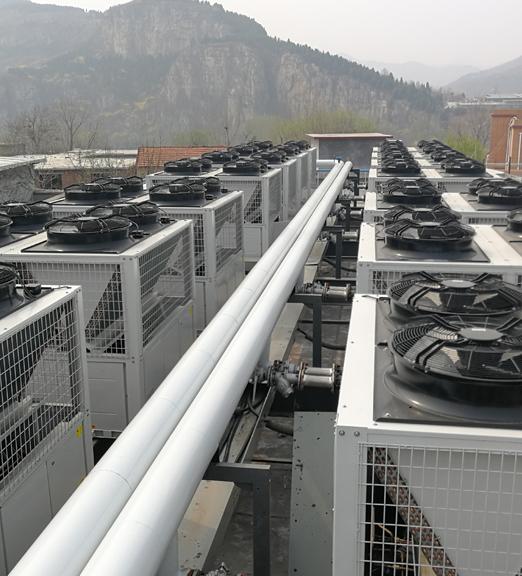北京延庆无煤化空气源热泵 集中供暖项目