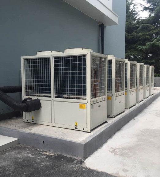 涡旋式超低温空气源热泵机组